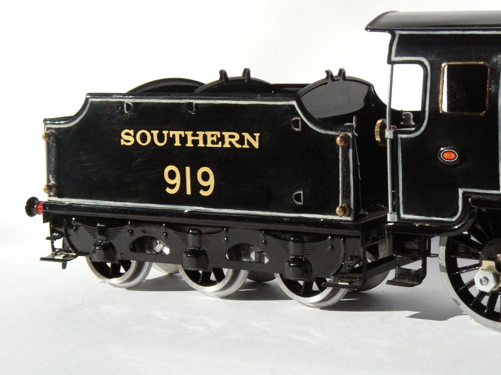 "Fitzroy Loco Works O gauge reproduction Hornby Schools class ""Harrow"" tinplate tender"