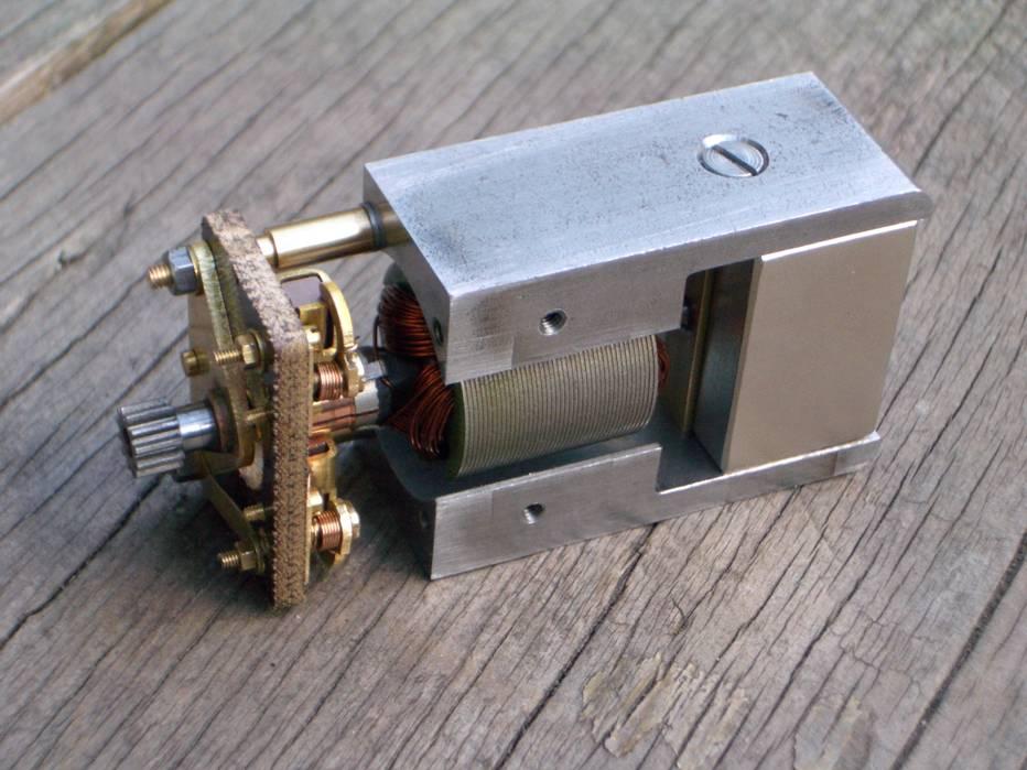 Fitzroy Loco Works replica Bassett-Lowke Permag motor 12V O gauge