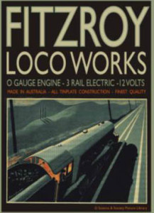 Fitzroy Loco Works box label