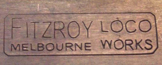 Fitzroy Loco Works logo-stamped