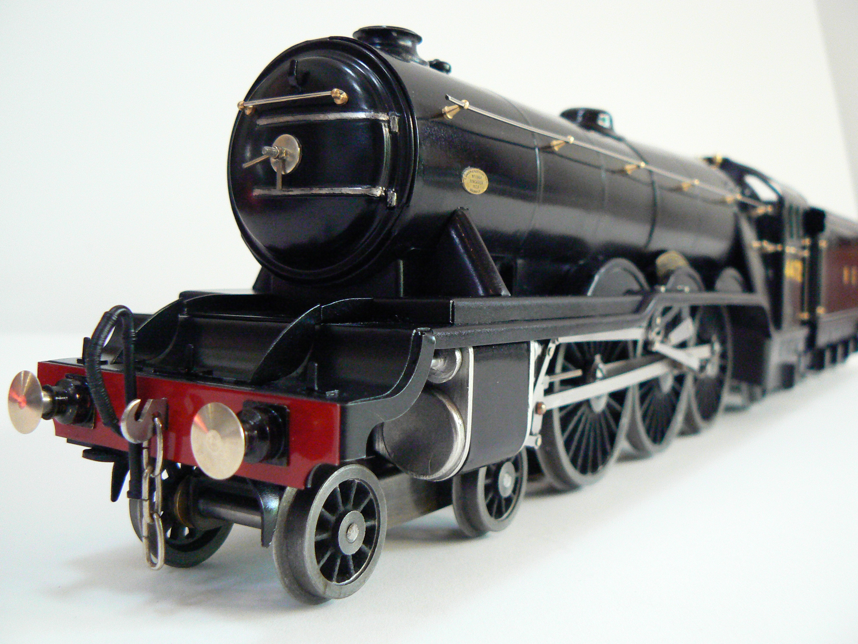 Wartime black tinplate flying scotsman from Fitzroy Loco Works