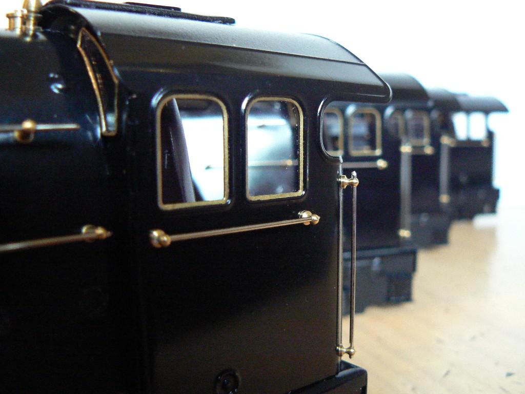 Fitzroy loco works glazed tinplate cab