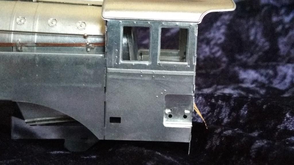 Fitzroy Loco Works O gauge tinplate Spirit Of Progress Cab Detail