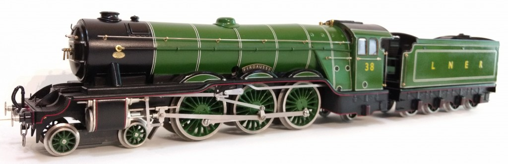 A real tinplate O gauge locomotive built new in 2018