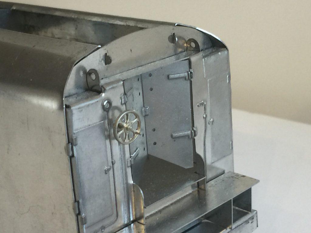 Fitzroy loco works tinplate tender in O gauge