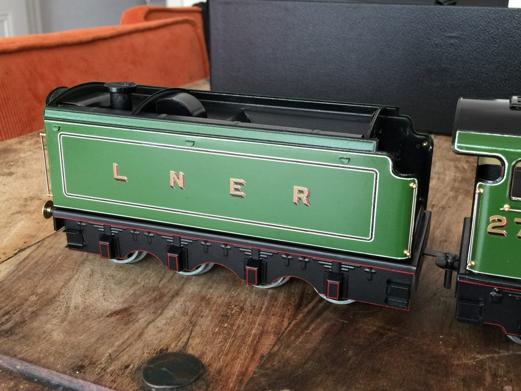 Fitzroy loco Works tinplate tender