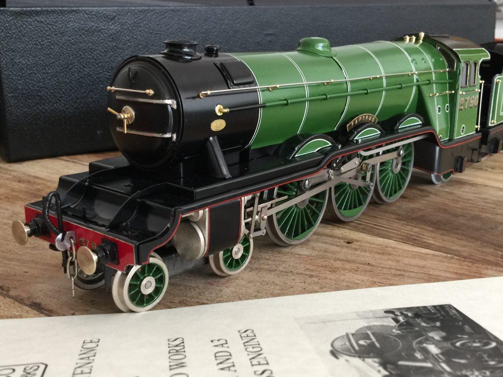 Fitzroy loco Works tinplate LNER A3