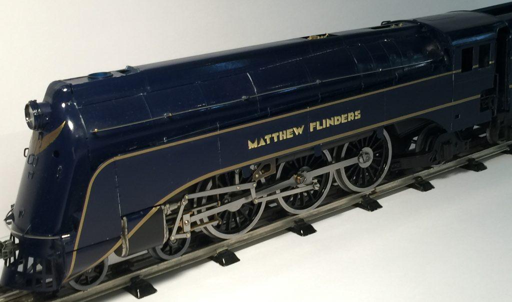 Victorian Railways steam S class loco