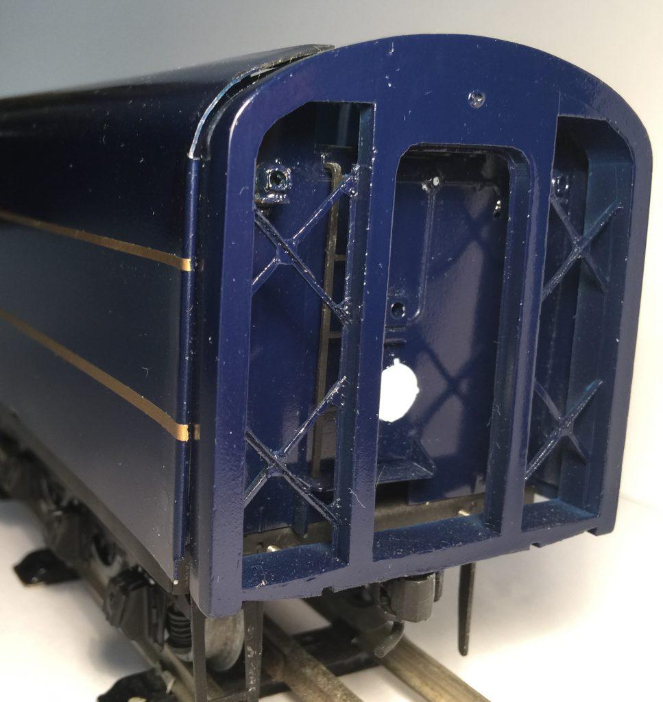 Tender Rear End, S Class Steam Engine, O Gauge Tinplate